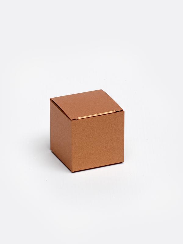 Koper kubus in karton om zelf te vullen