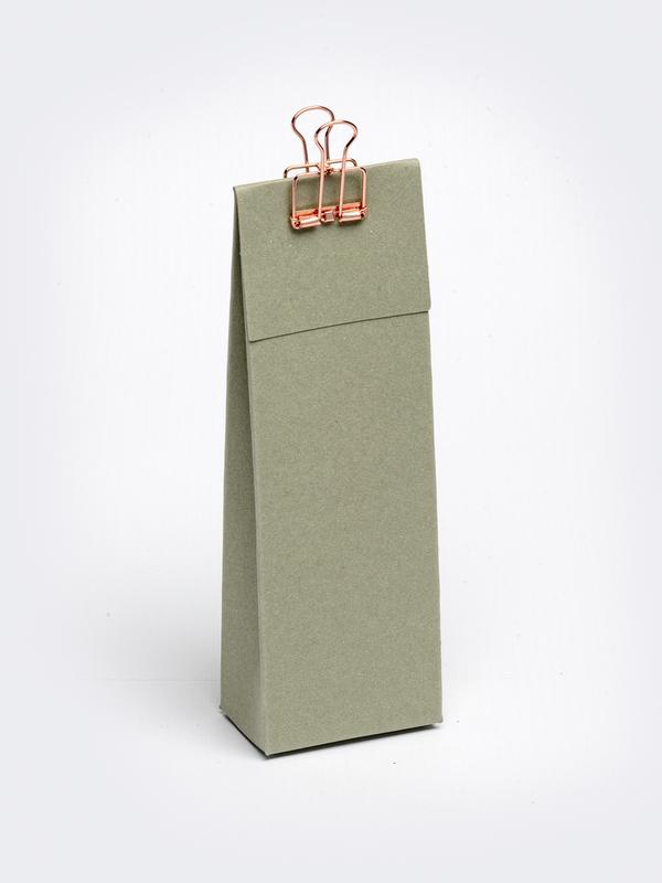 Jade hoog tasje met klep om zelf te vullen