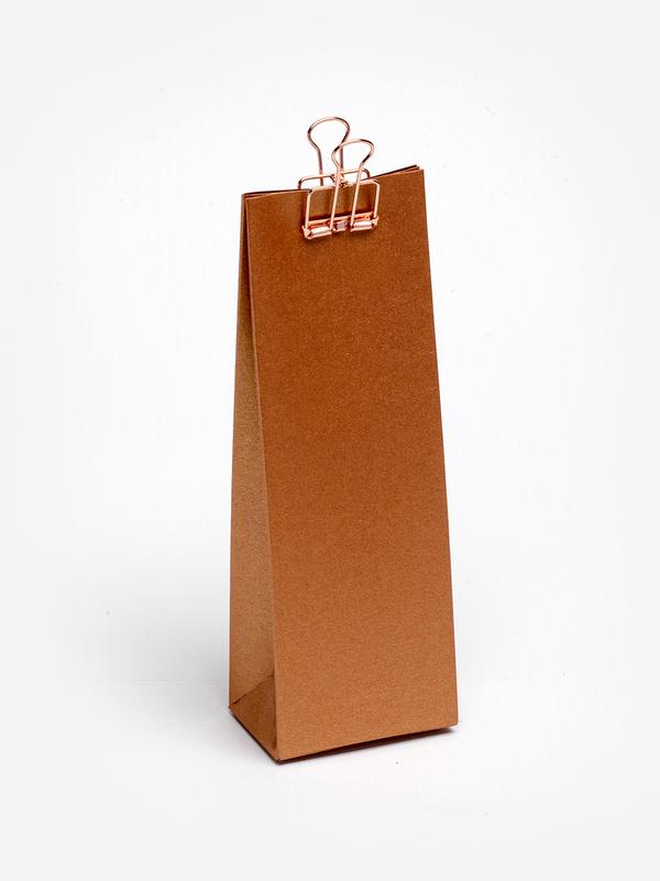 Koper hoog tasje in karton om zelf te vullen