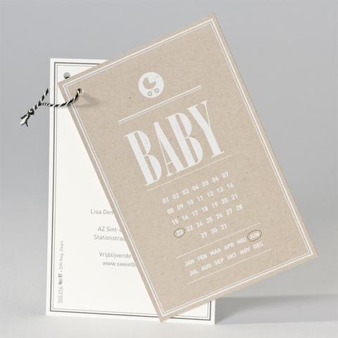 Bergmans - Geboortekaartjes www.doopsuikerbergmans.be
