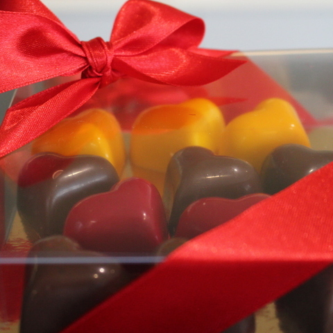 Doopsuiker Bergmans Mol - Pralines en chocolade